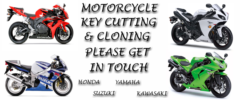 motorcycle key cutting & cloning